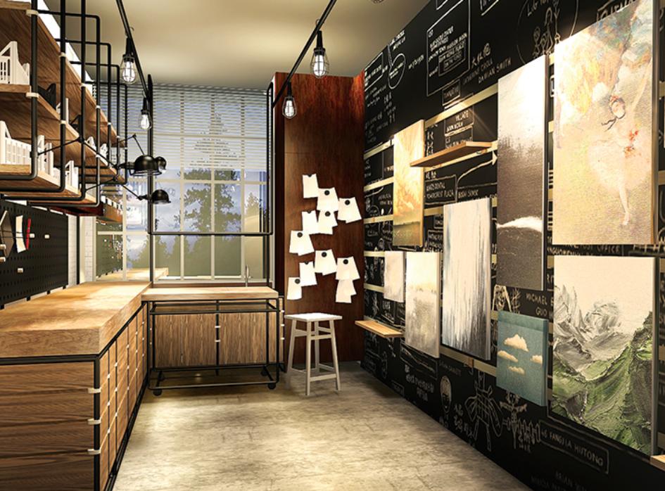 master in interior & living design