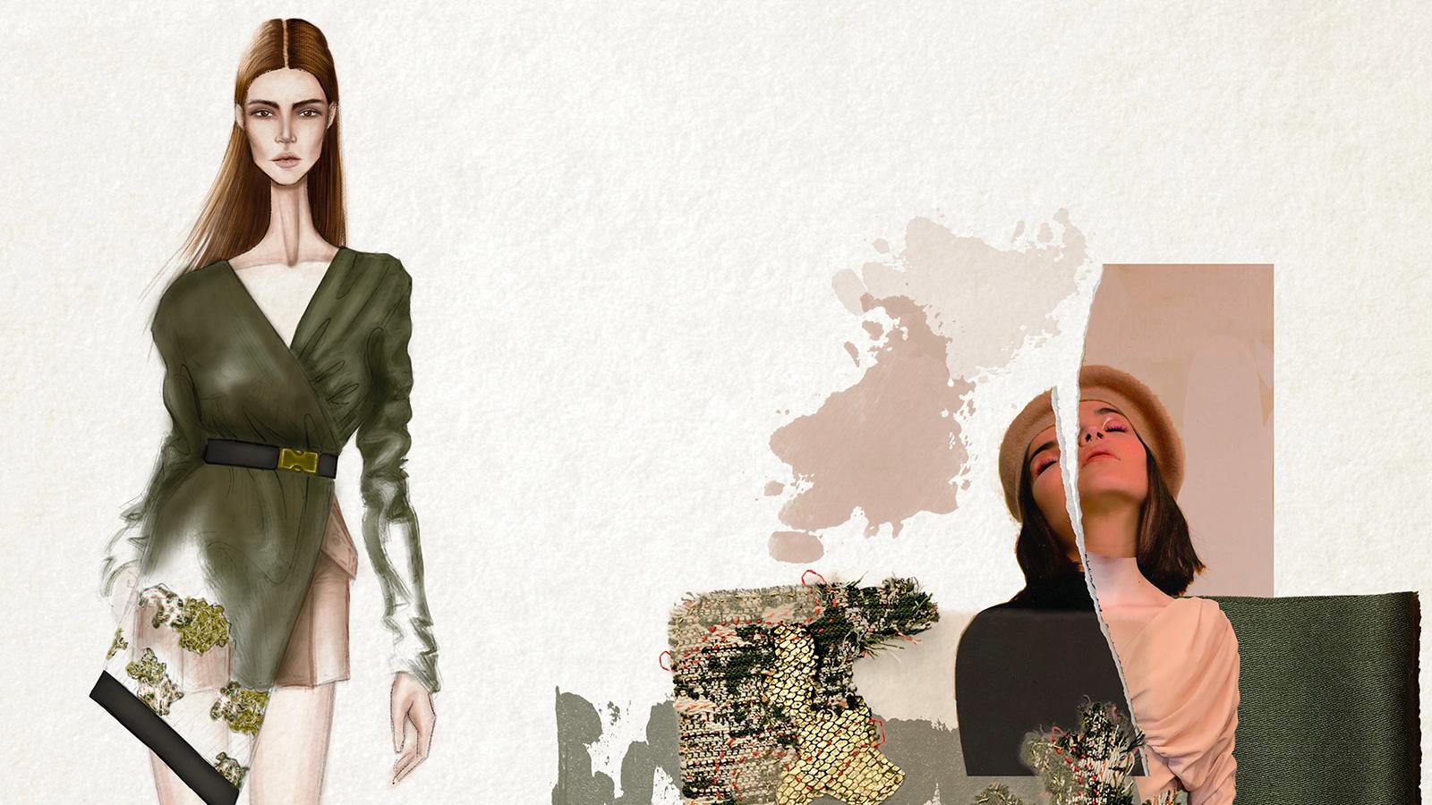 fashion digital illustration | 06 semanas